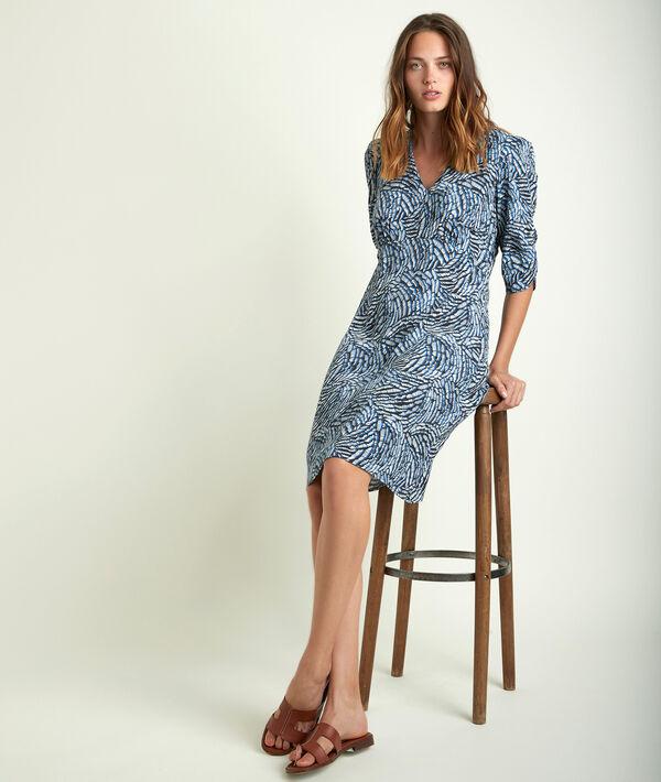 Claudy printed dress PhotoZ | 1-2-3