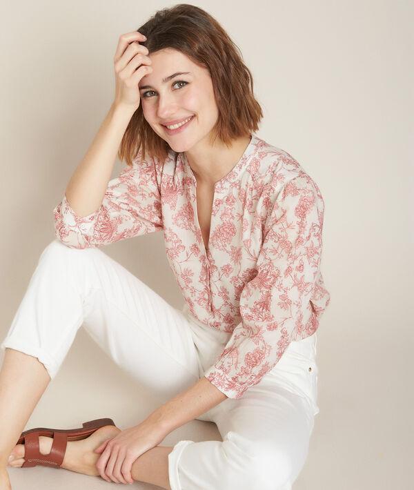 Enry printed blouse  PhotoZ   1-2-3