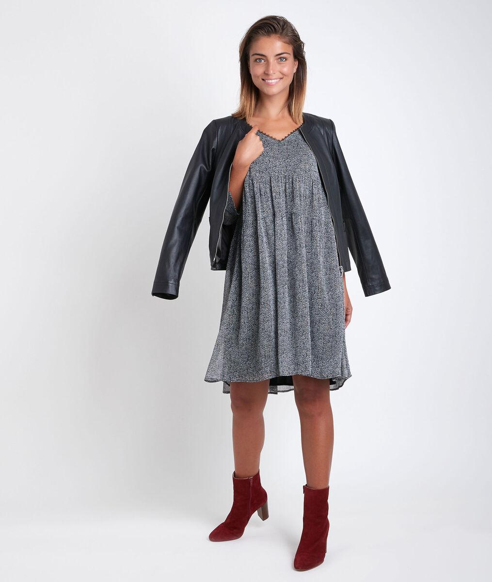 Noce lurex printed dress PhotoZ | 1-2-3