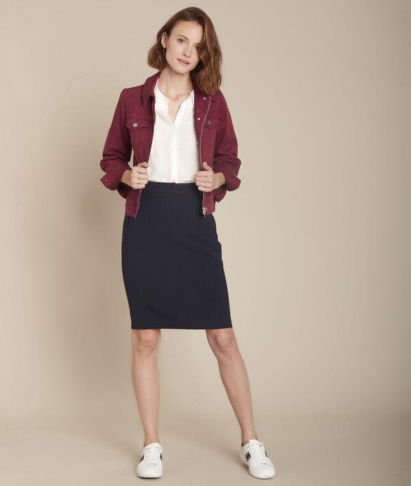 Maria ecru silk blouse PhotoZ | 1-2-3