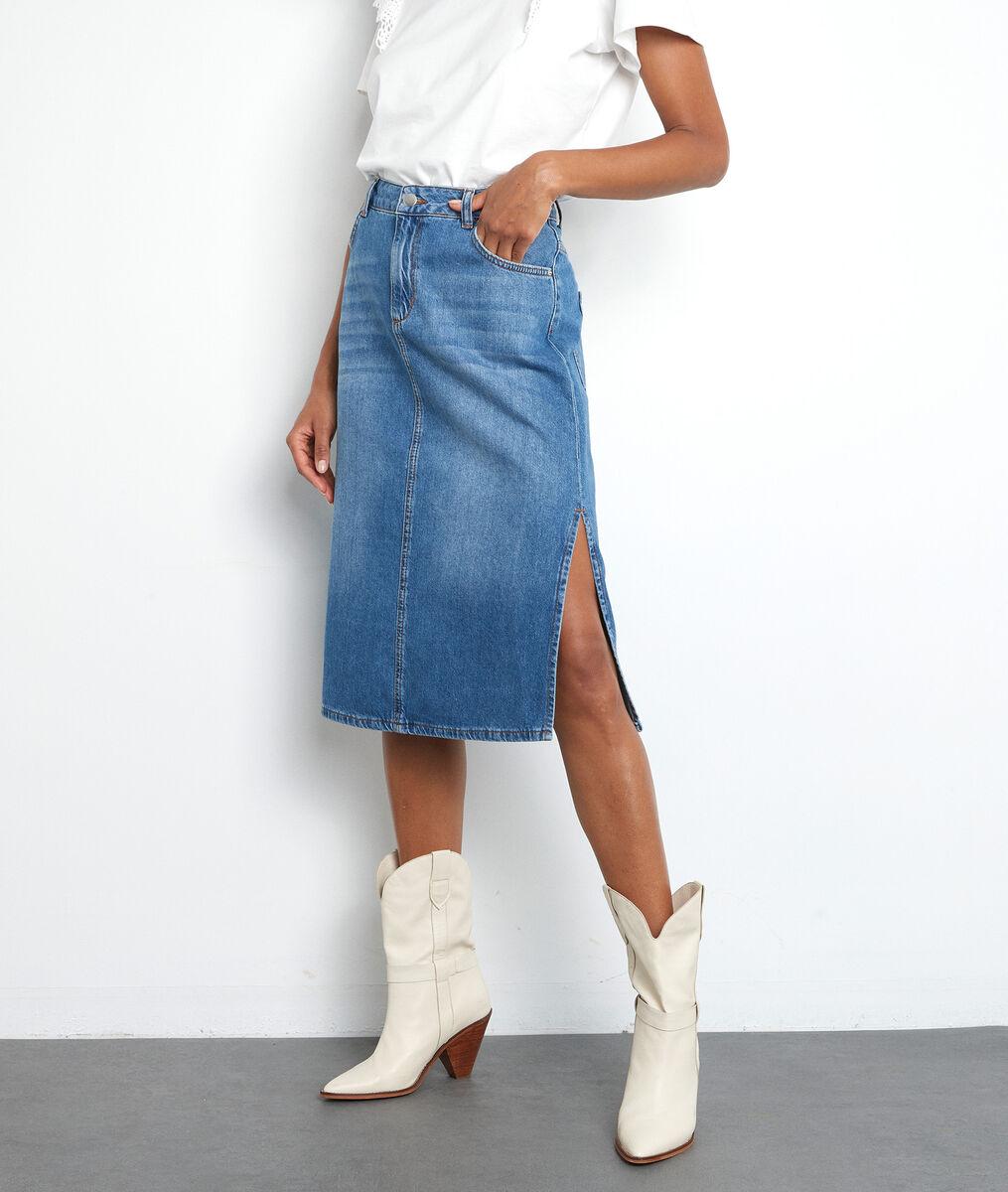 Erva denim cotton skirt  PhotoZ | 1-2-3