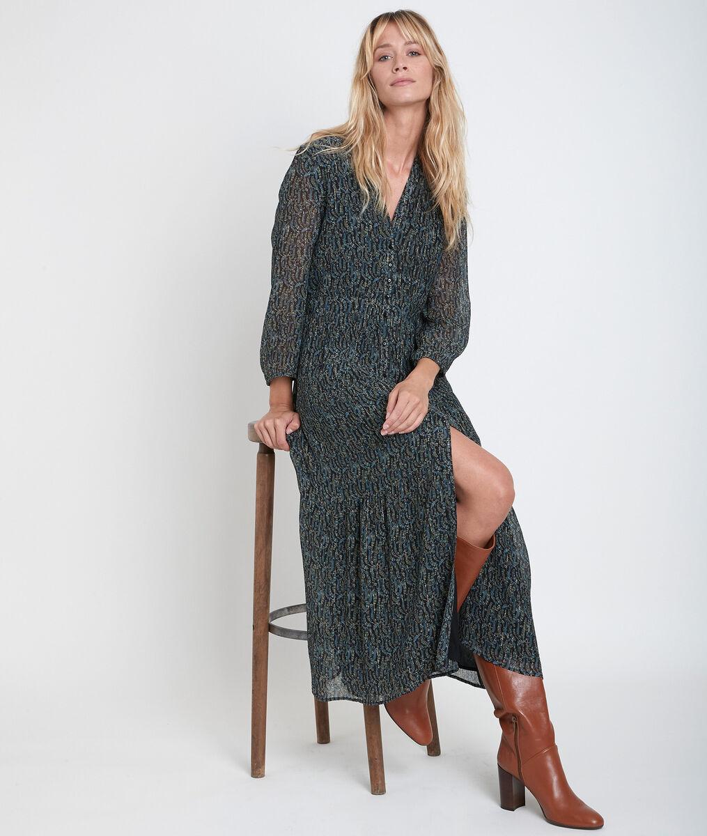 Carola printed maxi dress PhotoZ | 1-2-3