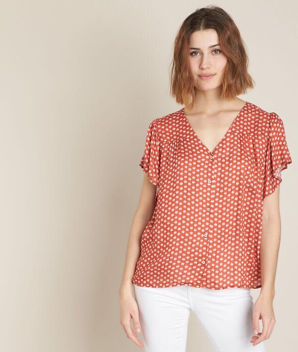 Elou printed blouse PhotoZ | 1-2-3