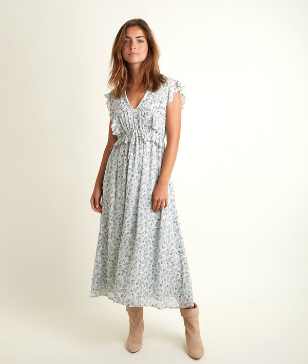 Nora long printed dress PhotoZ   1-2-3