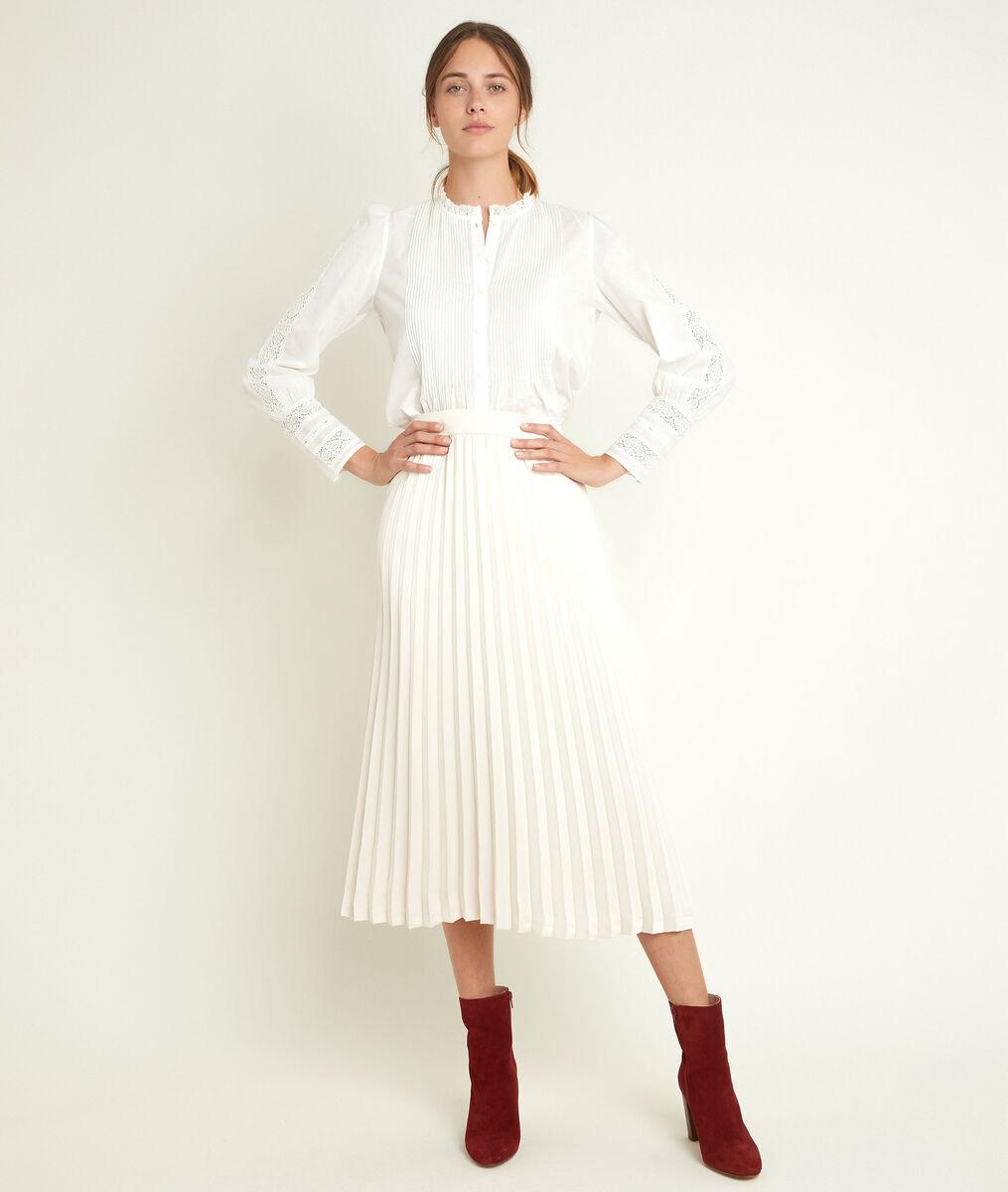 Gina pleated maxi skirt PhotoZ | 1-2-3