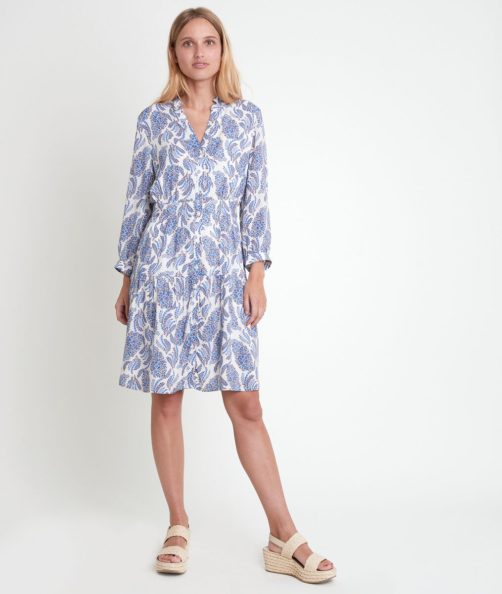 Lovely forget-me-not printed dress PhotoZ | 1-2-3