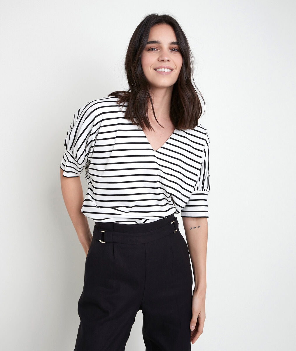 INZO striped T-shirt PhotoZ | 1-2-3