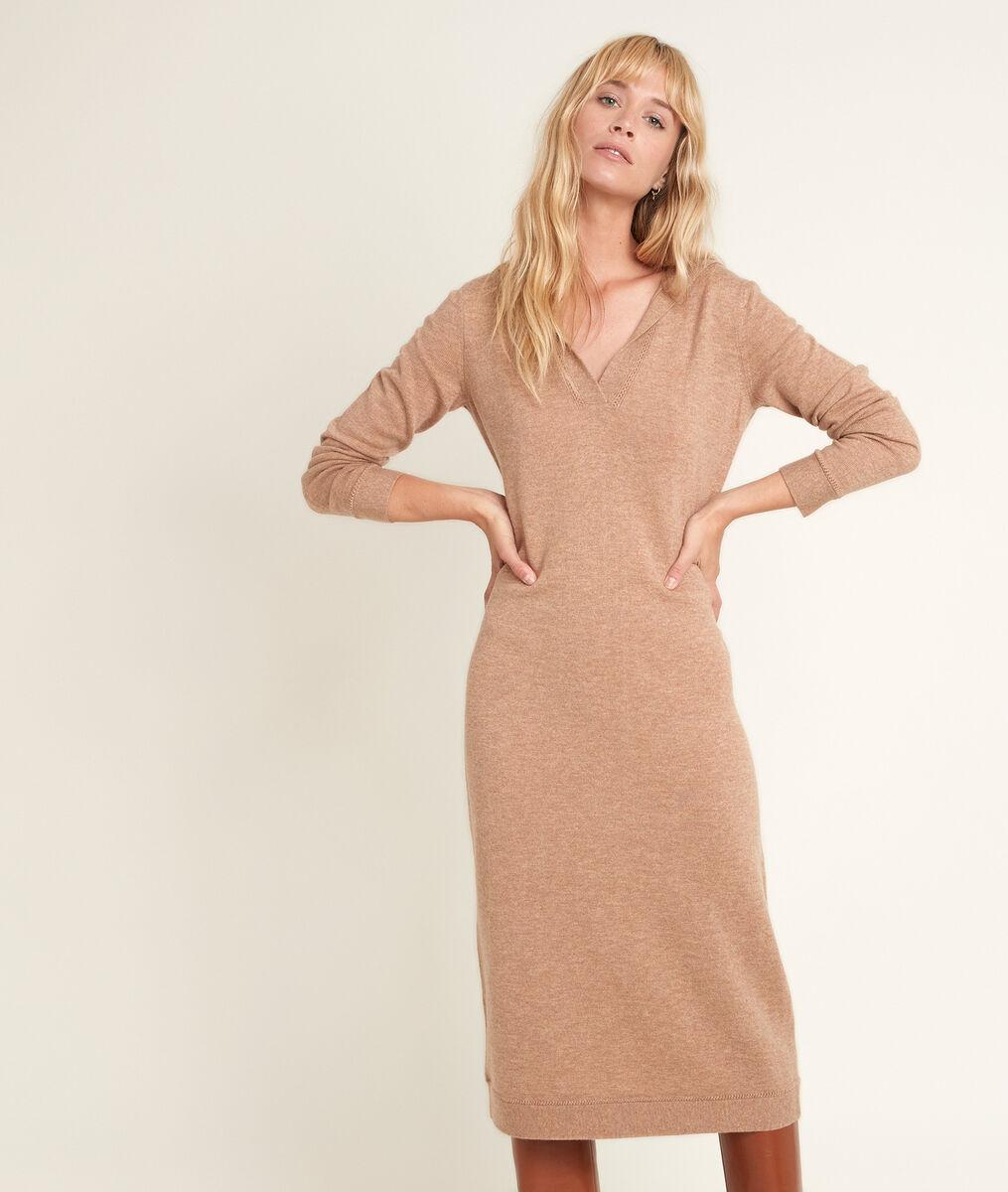 Rozane wool and cashmere dress PhotoZ | 1-2-3