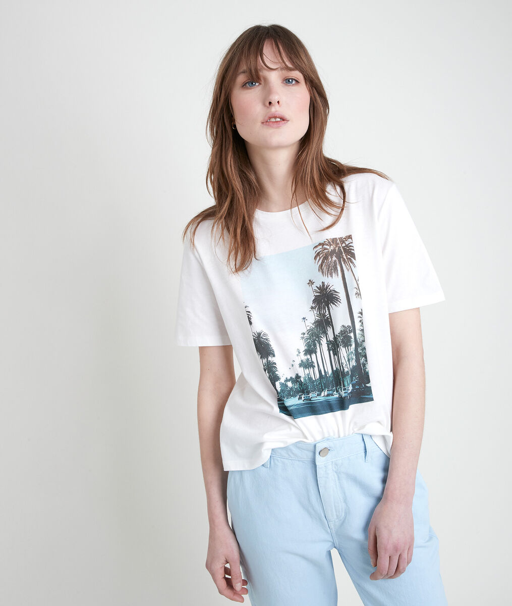 IPALME printed landscape T-shirt PhotoZ | 1-2-3