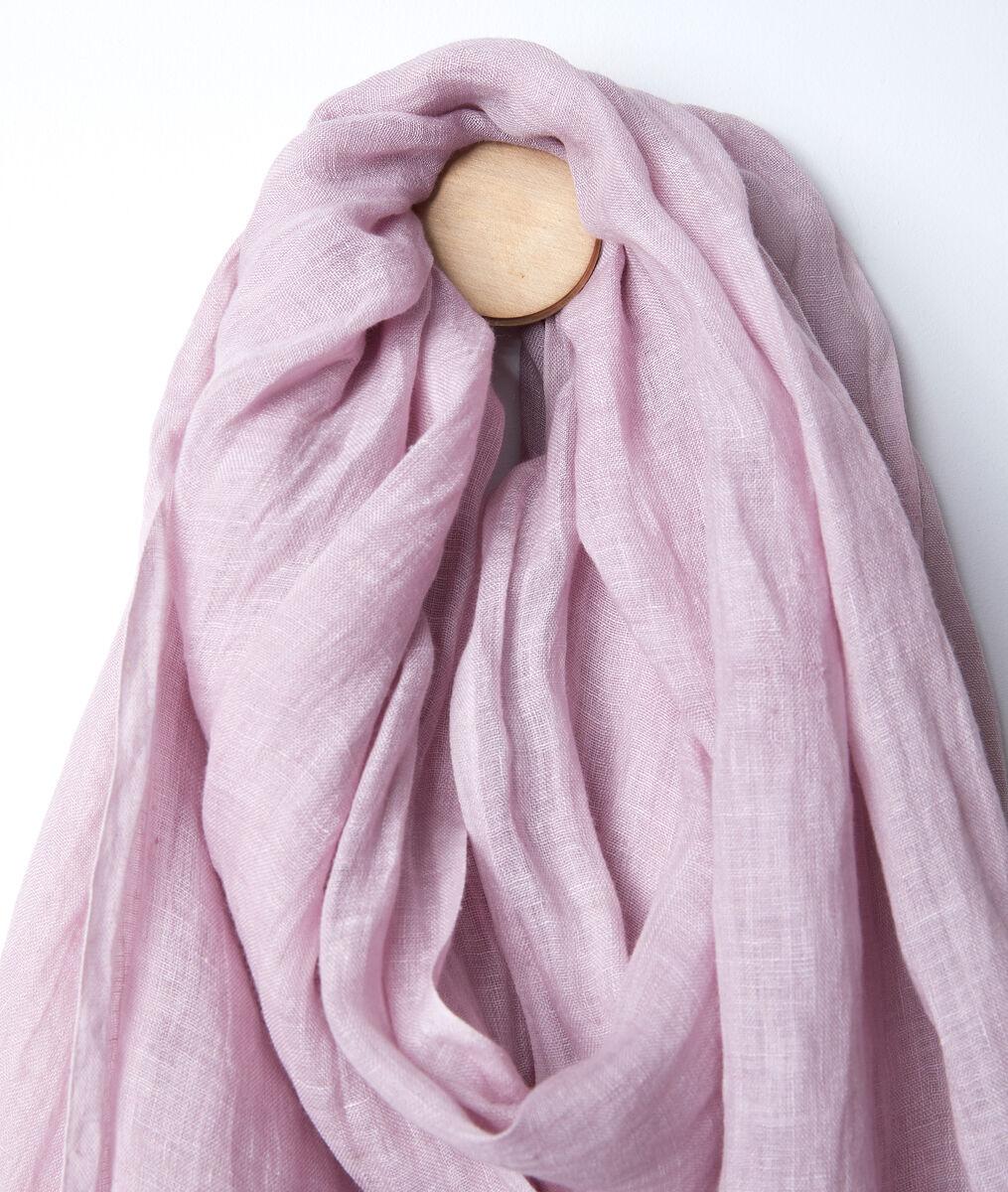 Billy violet linen scarf PhotoZ | 1-2-3