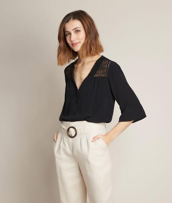 Eddie black lace blouse PhotoZ   1-2-3