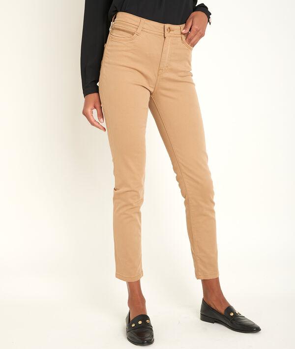 The iconic Sultan havana slim-fit cotton satin trousers PhotoZ | 1-2-3