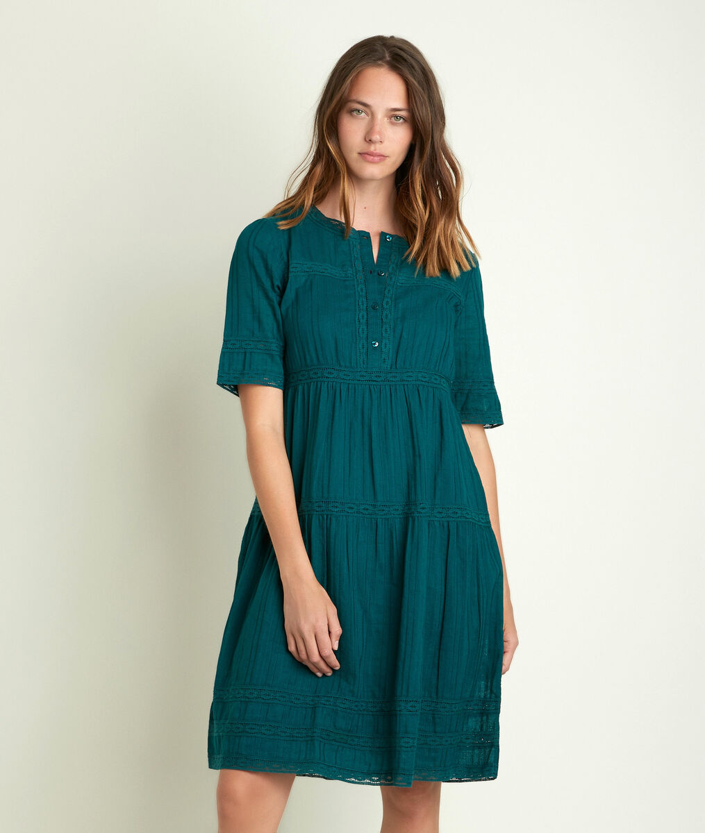 Corelia green lace dress PhotoZ | 1-2-3