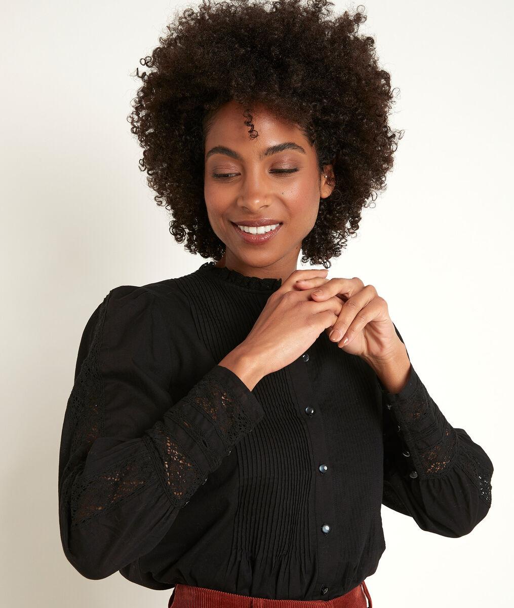 Jena black lace blouse PhotoZ | 1-2-3