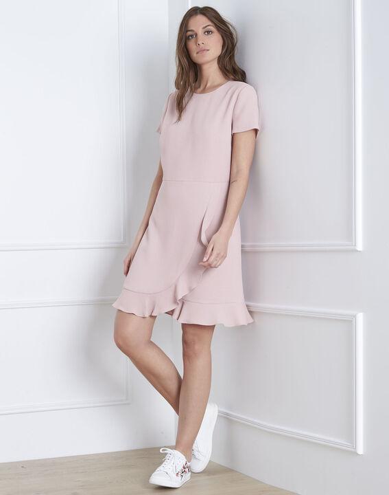 Lison ruffles compact colour powder dress  PhotoZ | 1-2-3
