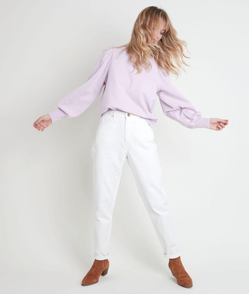 Divao mauve sweater with shoulder pads PhotoZ | 1-2-3