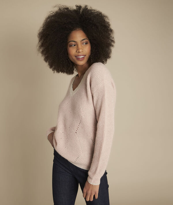 Flamenco fancy neck pullover PhotoZ | 1-2-3