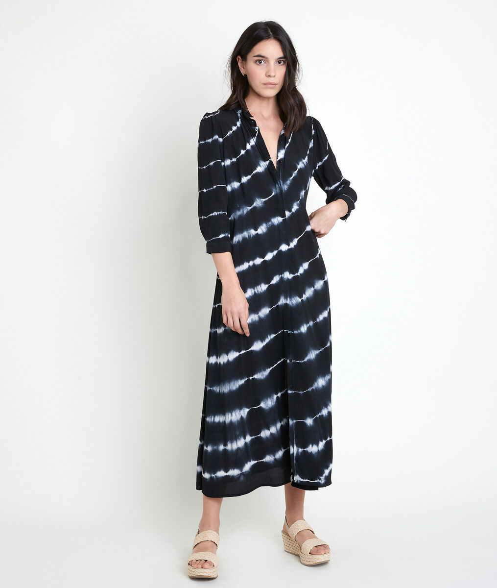 Laurice printed long shirt dress PhotoZ | 1-2-3