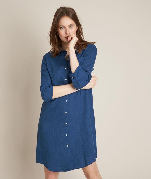 Celine linen shirt dress PhotoZ   1-2-3