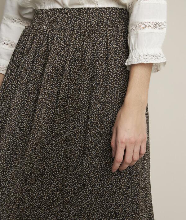 Belle long animal print skirt PhotoZ | 1-2-3