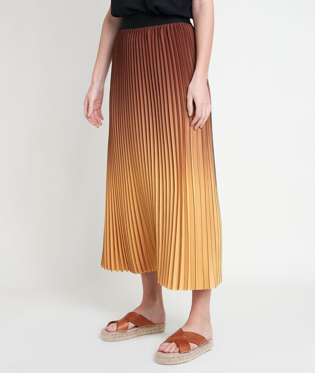 EMELIA tie-dye pleated skirt PhotoZ | 1-2-3