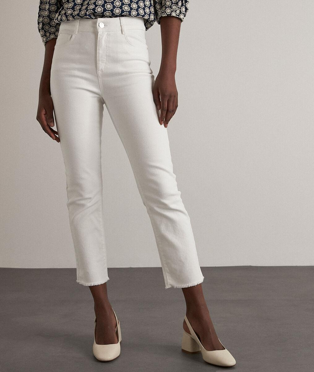 Patience raw cut straight-leg jeans PhotoZ | 1-2-3