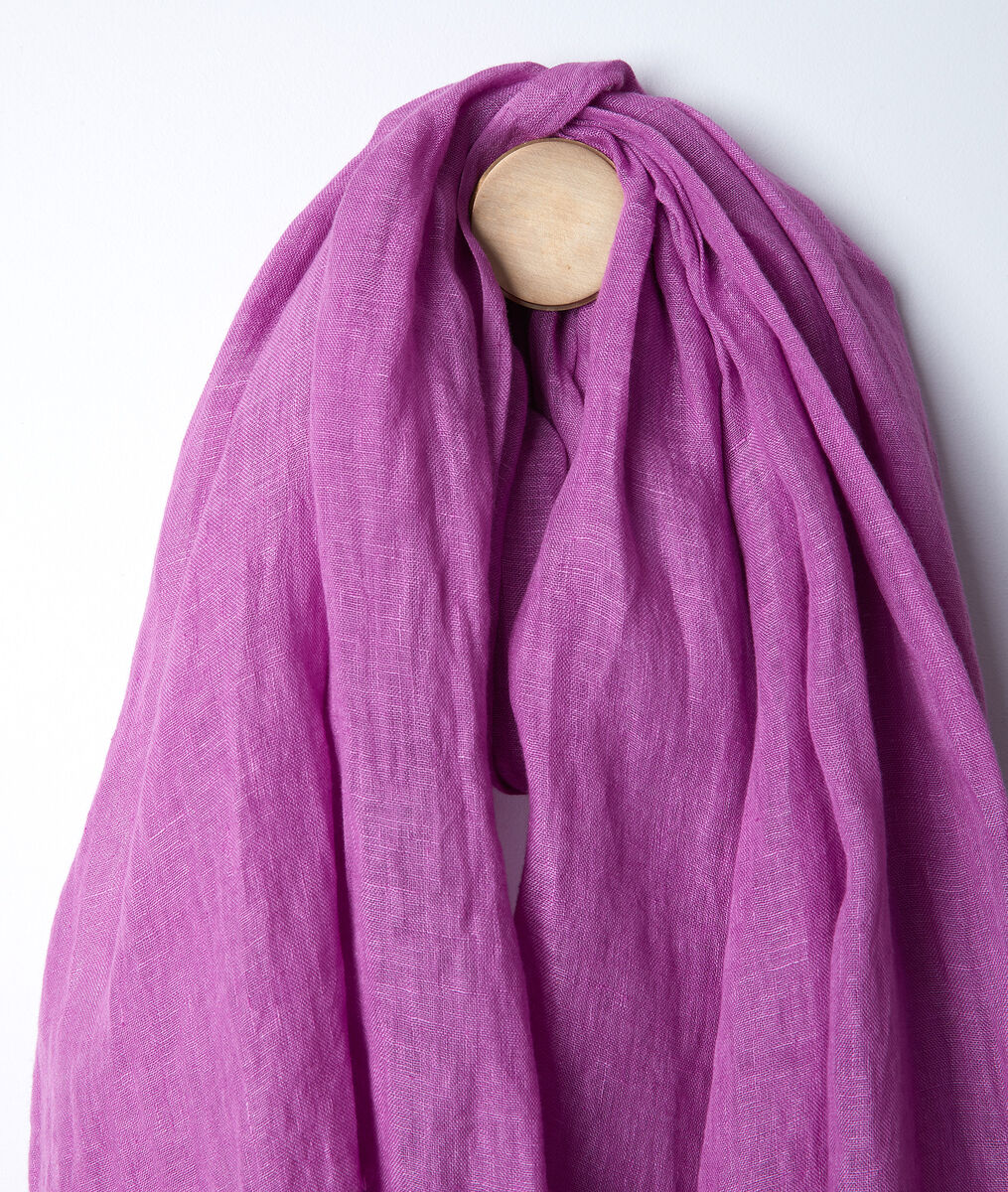Billy bougainvillea linen scarf PhotoZ | 1-2-3