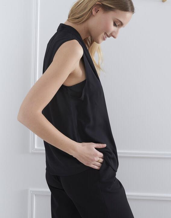 Verone black wrap around top (4) - Maison 123