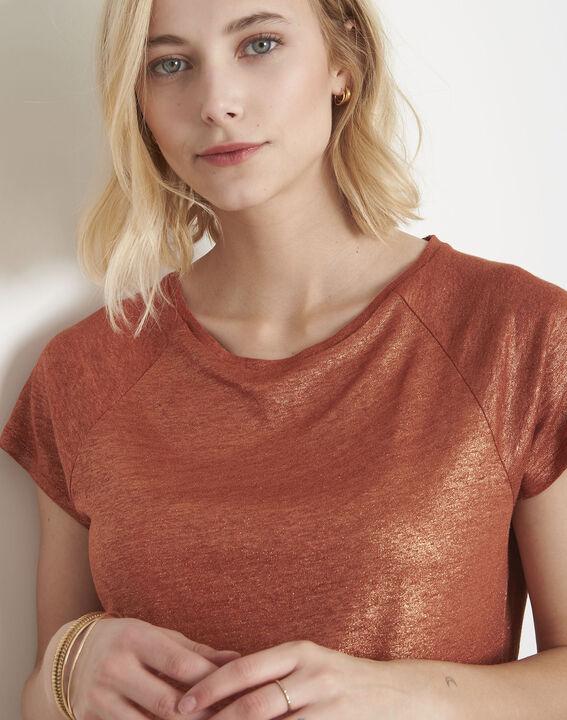 Pipper shiny mahogany T-shirt (3) - Maison 123