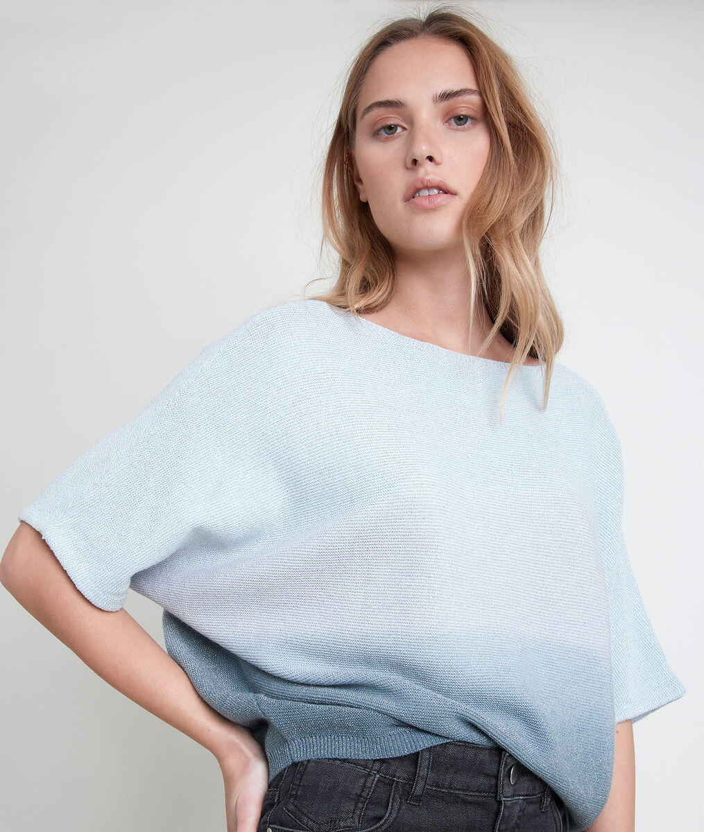 ASHLEY lightweight blue gradient jumper PhotoZ | 1-2-3