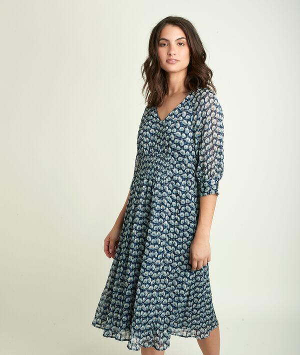 Cindy printed dress PhotoZ | 1-2-3