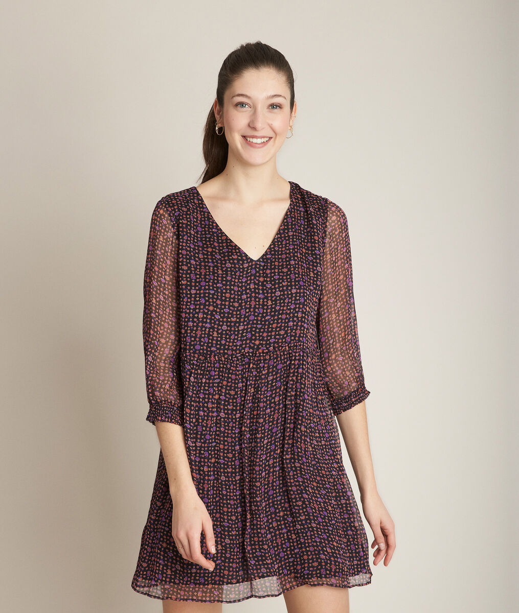 Clarisse printed dress PhotoZ | 1-2-3
