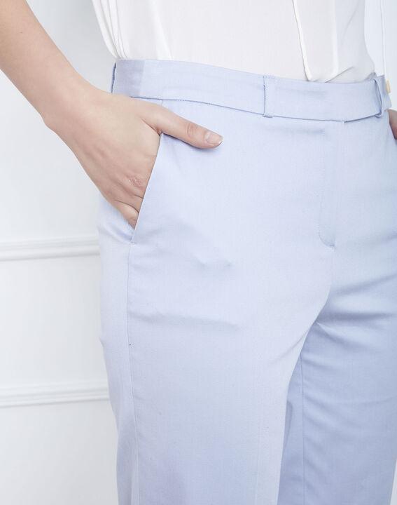 Rubis sky blue cigarette trousers (3) - Maison 123