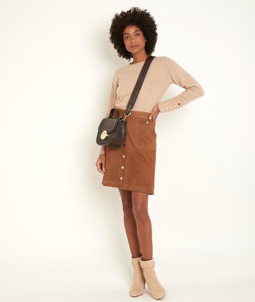 River camel cashmere pullover  PhotoZ | 1-2-3