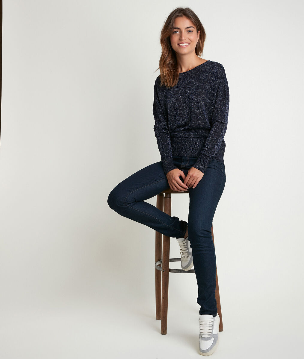 Prune, the iconic rinse slim-fit jeans PhotoZ | 1-2-3