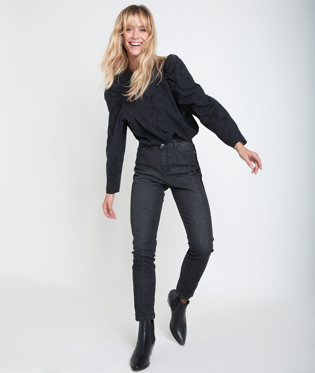Petra 7/8 slim velvet jeans PhotoZ | 1-2-3