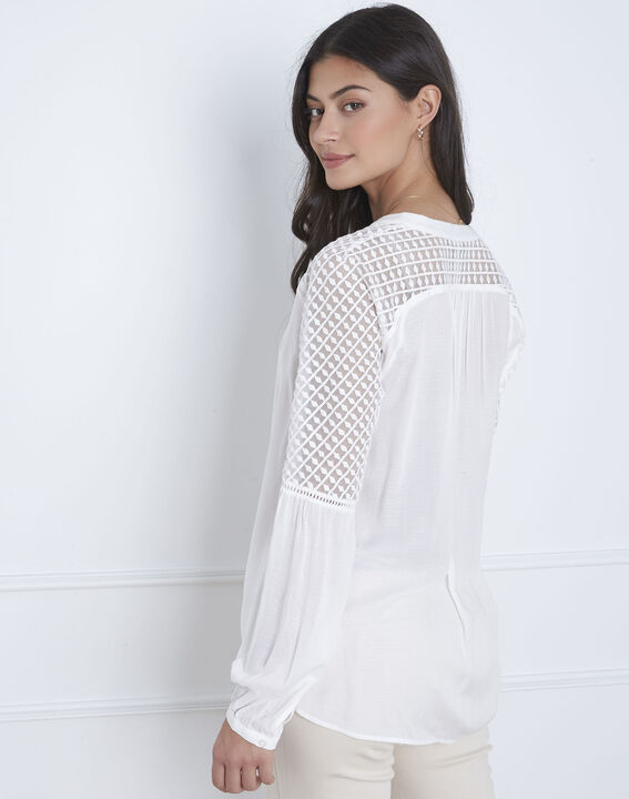 Valy ecru lace blouse (3) - Maison 123