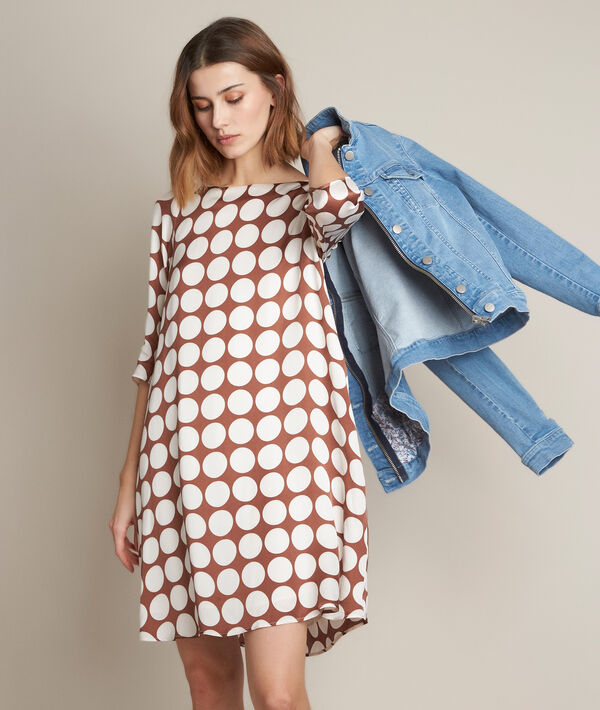 Rosie silk polka dot dress PhotoZ | 1-2-3