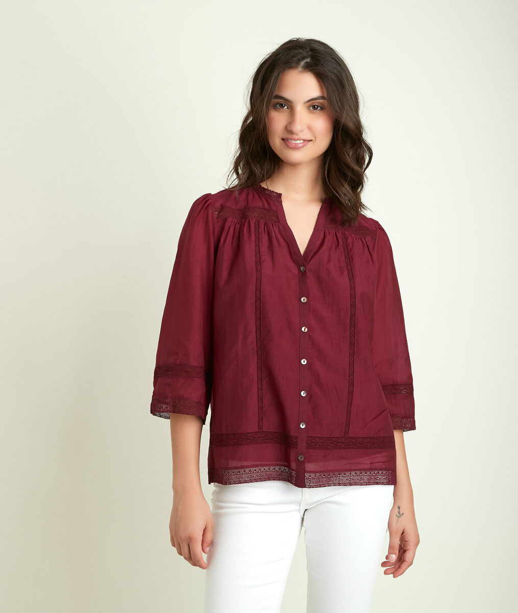 Erna embroidered blouse PhotoZ | 1-2-3