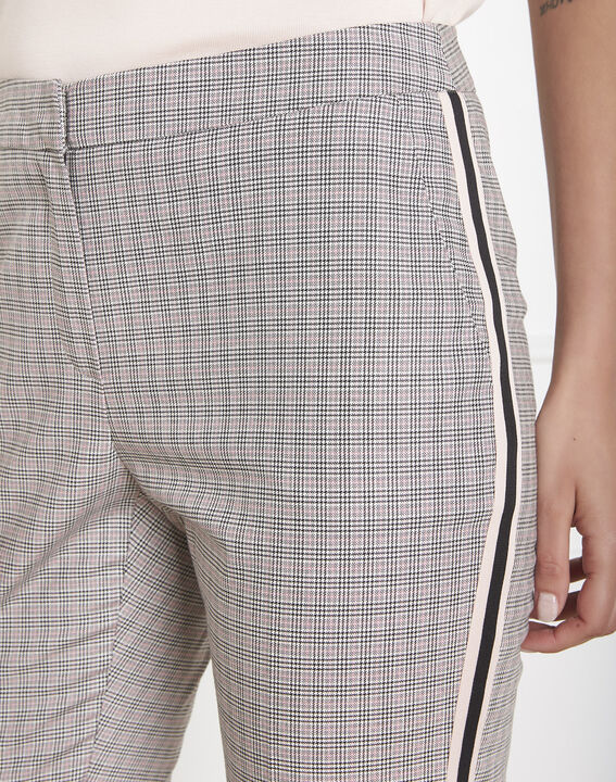 Suzanne Prince of Wales print cigarette trousers PhotoZ | 1-2-3