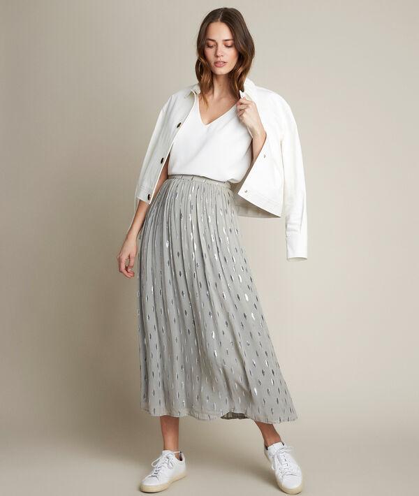 Belline long lurex skirt PhotoZ | 1-2-3