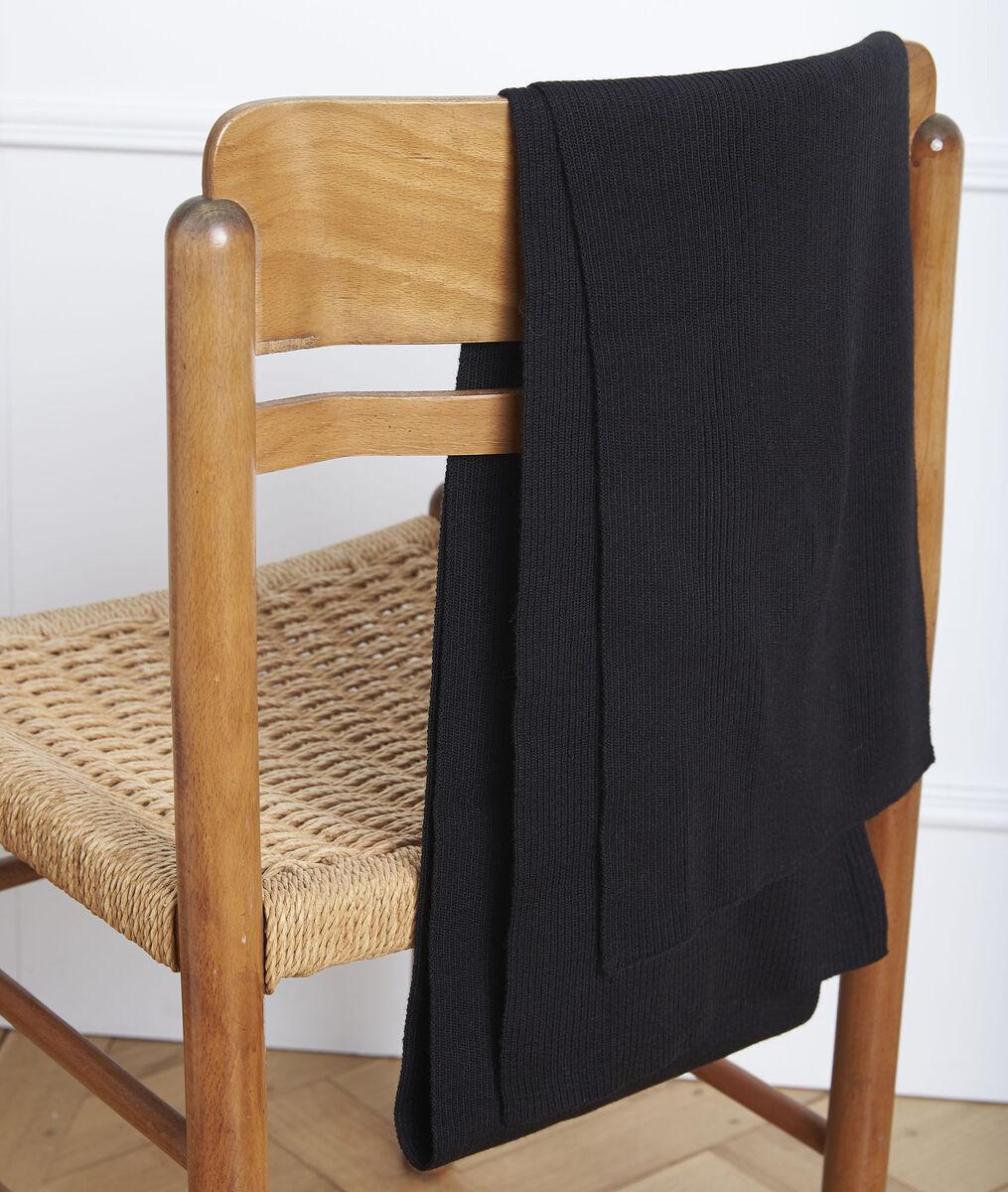 Gloraline black wool blend scarf PhotoZ | 1-2-3