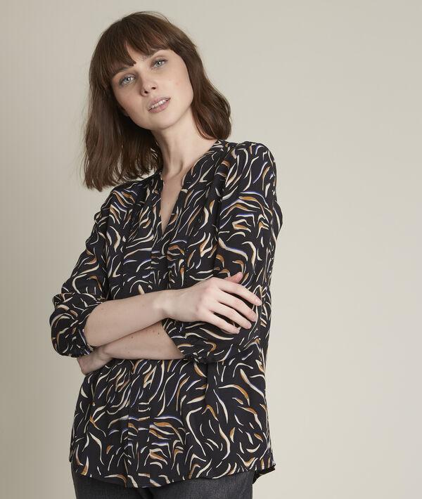 Martine printed blouse PhotoZ | 1-2-3