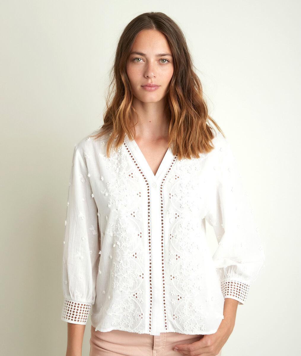 Jikoro embroidered blouse PhotoZ   1-2-3