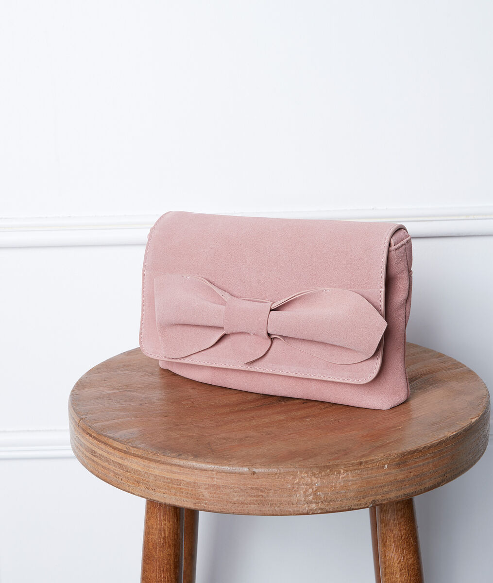 Dolly pink leather bag PhotoZ | 1-2-3