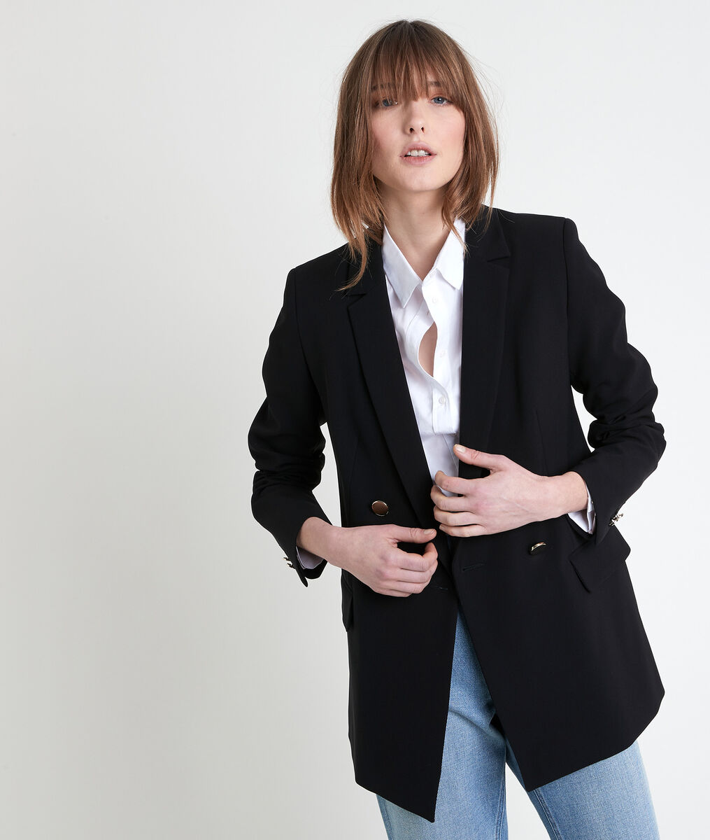 FLORINE black microfibre jacket PhotoZ | 1-2-3