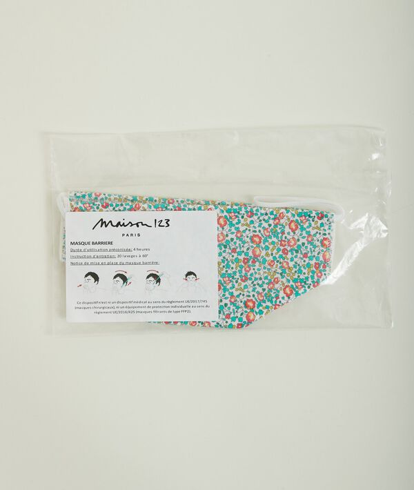 Washable textile barrier mask PhotoZ | 1-2-3