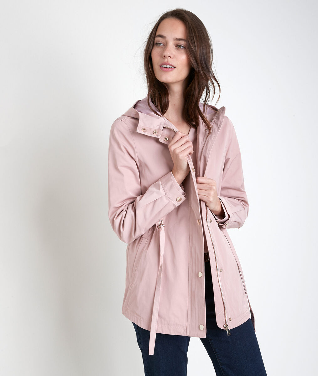 Nahia powder pink hooded parka PhotoZ | 1-2-3