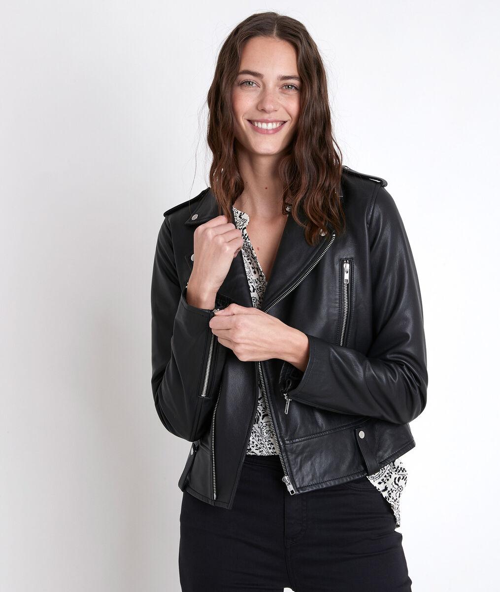 TOMMY black leather jacket PhotoZ   1-2-3
