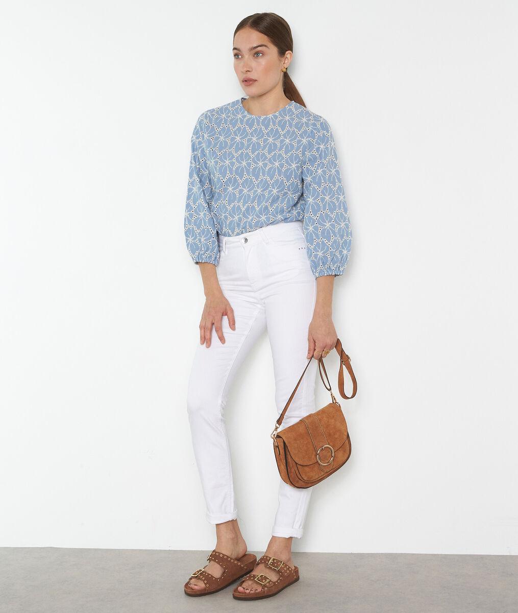 Suzy 2 Bis white slim-fit jeans PhotoZ | 1-2-3